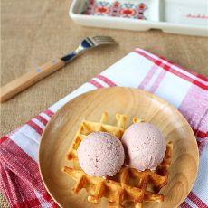草莓冰淇淋1