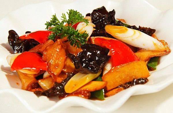 杏鮑菇& 雞肉