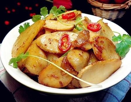杏鮑菇燜土豆片