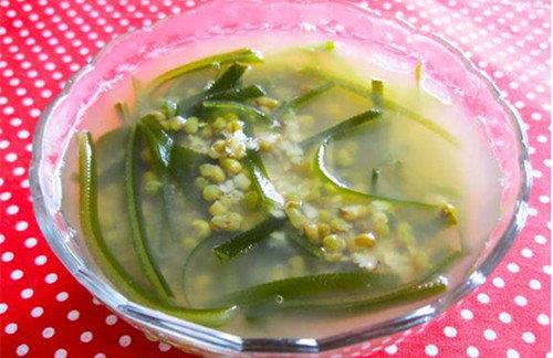 開胃消暑綠豆粥