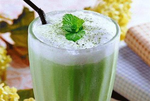 綠豆蜜爽奶茶