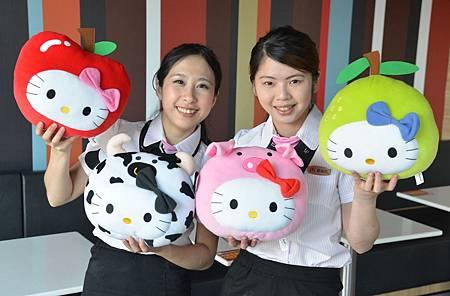 麥當勞Hello Kitty新抱枕 明早11點登場!