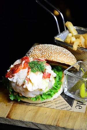 龍蝦海鮮堡