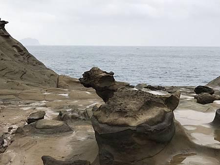 象鼻岩 淡水海關碼頭_180108_0013
