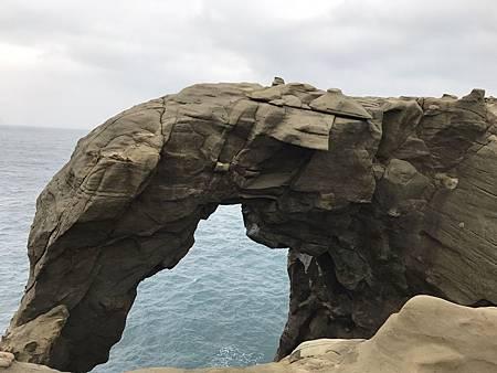 象鼻岩 淡水海關碼頭_180108_0005