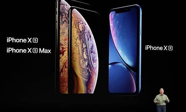 iPhone XS、XS Max