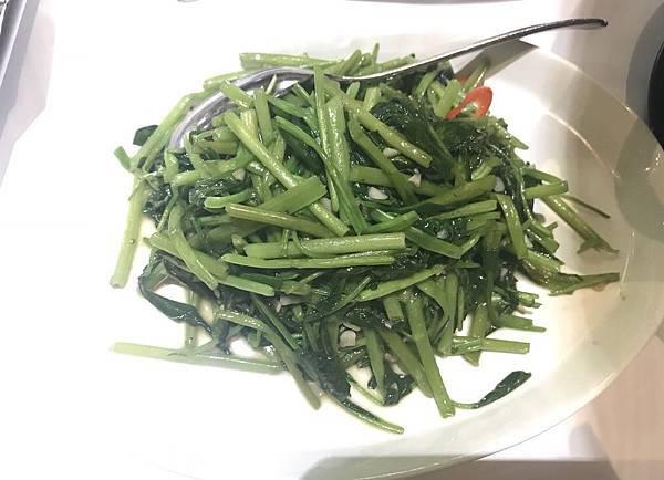 蒜香空心菜