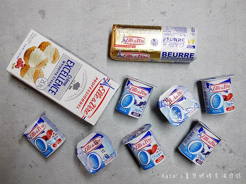 鐵塔牌優格好吃嗎 鐵塔牌無鹽奶油 鐵塔牌鮮奶油 藍莓優格 藍莓優格布蕾派 派皮作法 布蕾派食譜1.jpg