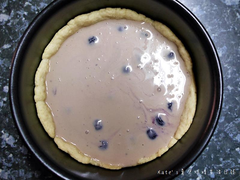 鐵塔牌優格好吃嗎 鐵塔牌無鹽奶油 鐵塔牌鮮奶油 藍莓優格 藍莓優格布蕾派 派皮作法 布蕾派食譜27.jpg