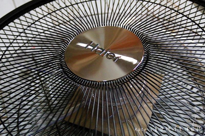 Haier14吋DC經典霧面黑風扇  Haier14吋DC直流變頻微電腦立扇 群光電子電風扇評價 海爾風扇好用嗎 省電電扇推薦 七片扇葉 12段風速 ECO溫感 可預約定時的電風扇9.jpg