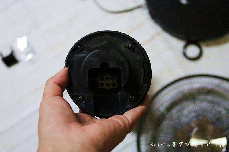 Haier14吋DC經典霧面黑風扇  Haier14吋DC直流變頻微電腦立扇 群光電子電風扇評價 海爾風扇好用嗎 省電電扇推薦 七片扇葉 12段風速 ECO溫感 可預約定時的電風扇16.jpg