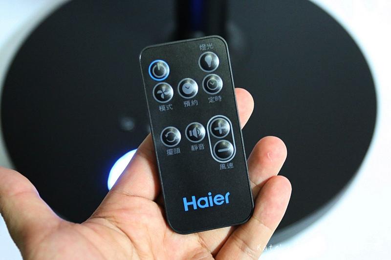 Haier14吋DC經典霧面黑風扇  Haier14吋DC直流變頻微電腦立扇 群光電子電風扇評價 海爾風扇好用嗎 省電電扇推薦 七片扇葉 12段風速 ECO溫感 可預約定時的電風扇51.jpg
