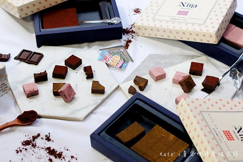 Nina Chocolate Nina 妮娜手工巧克力工坊 手工巧克力 生巧克力 甜點清淨巧克力工坊 南投巧克力工坊 巧克力送禮推薦 交換禮物選擇 巧克力推薦 好吃的生巧克力20.jpg