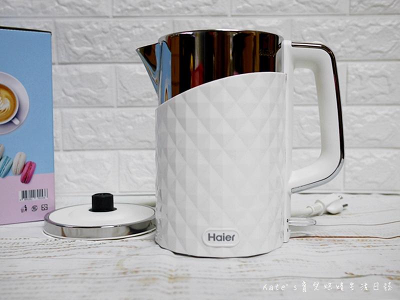 海爾快煮壺 海爾白色快煮壺 Haier 1.7L 鑽紋雙層快煮壺 快煮壺推薦 生活小家電 海爾快煮壺好用嗎6.jpg