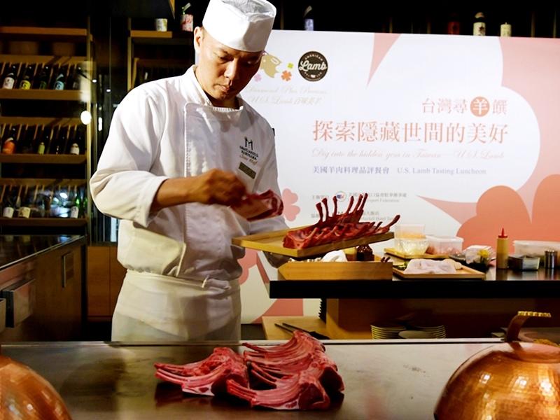 台灣尋羊饌 美福大飯店鐵板料理 美國進口羊肉 小羔羊無羶騷味30.jpg