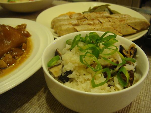 鯛魚香菇松露飯