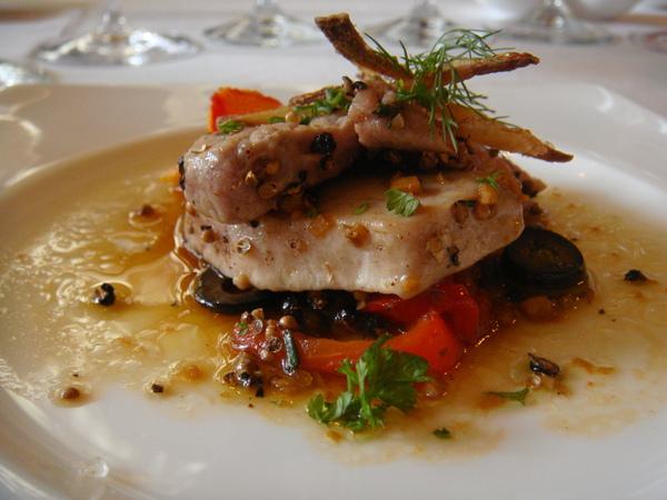 牙買加胡椒香料上腹鮪魚