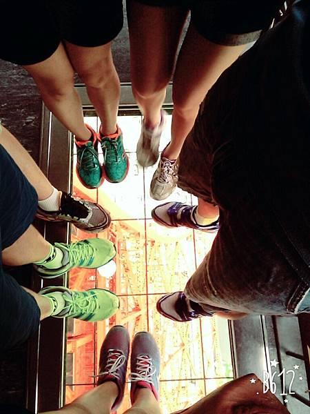 東京鐵塔上