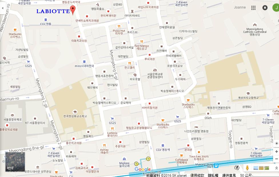LABIOTTE地址