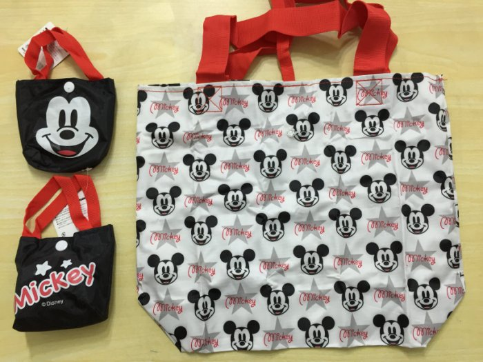 mickey shopping bag