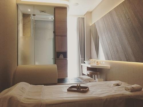 Yogilini提供每位貴賓獨享的美容spa芳療室