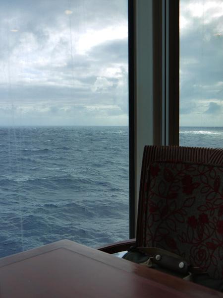 船上第2天早晨