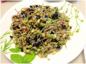 「涼拌黑豆芽」的圖片搜尋結果