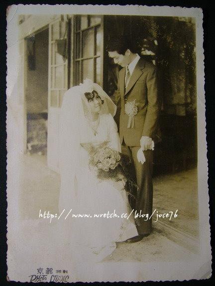 路公公路婆婆的婚紗照