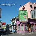 我覺得馬列是個顏色很豐富的城市,房子會漆成各種鮮豔的顏色