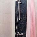 浴缸和蓮蓬頭都算乾淨,但是水質有點黃,我洗完澡之後小小過敏