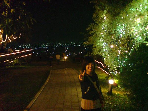 還不錯的夜景吧。