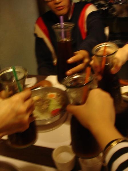 ya~ 乾杯!