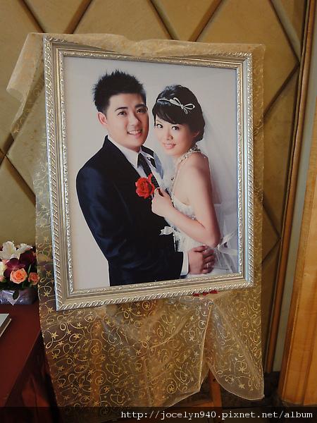 2010-03-28 今天是堂弟**耀幸福**的婚禮!