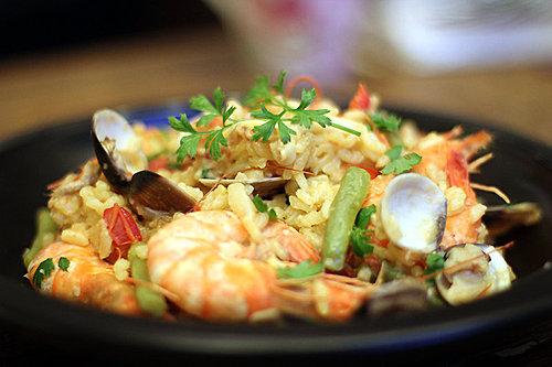 巴西利-海鮮燉飯