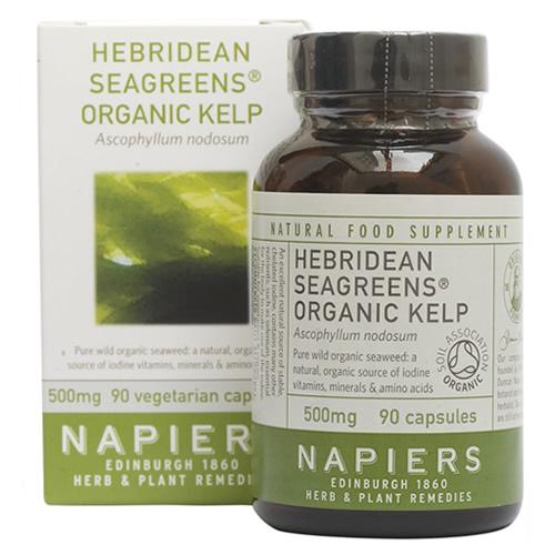 Seagreens®有機褐藻膠囊(英國赫布裡底群島)(90s)