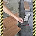 漢誠工程行-地磚工程(木紋磚)