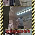漢誠工程行-廚房牆面壁磚脫落修復