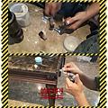 漢誠工程行-大理石桌面石材缺角美容