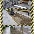 漢誠工程行-人行道雕塑基座拆除、草地復原