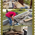漢誠工程行-木棧道拆除-施工中