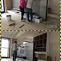 漢誠工程行-木作電視牆壁磚施工.jpg