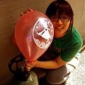 光林與她的相吻節氣球