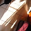 築本和我的影子在玩/ 那天的陽光真的很美