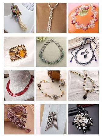 珠寶編織基礎認證作品