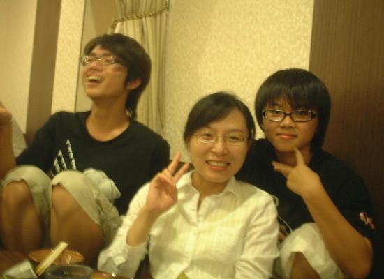 兆傑、旻燕老師、靜琳