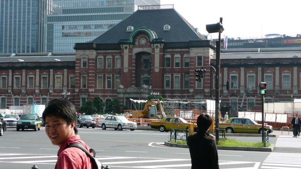 東京車站一景