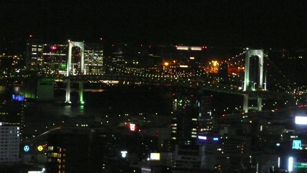 彩虹大橋夜景