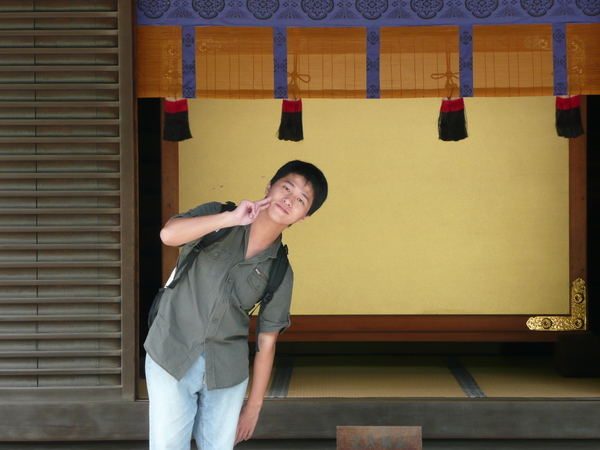 笑~~ 這是神宮內一景
