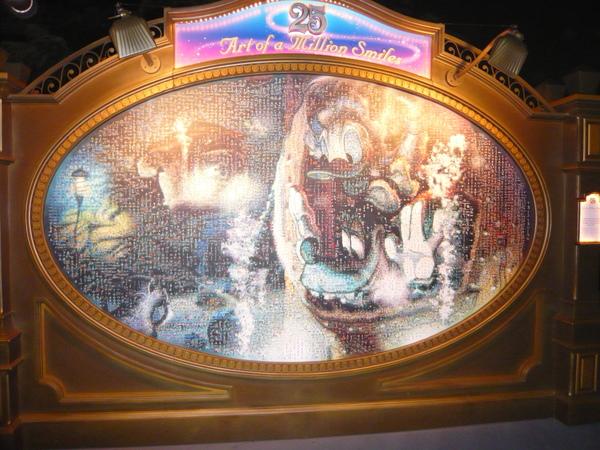 Disney SEA 25週年紀念合影
