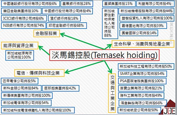 2010淡馬錫控股(Temasek hoiding)組織概...